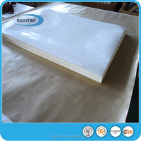 Biggest factory in china 80gsm hotmelt self adhesive mirror paper sheets