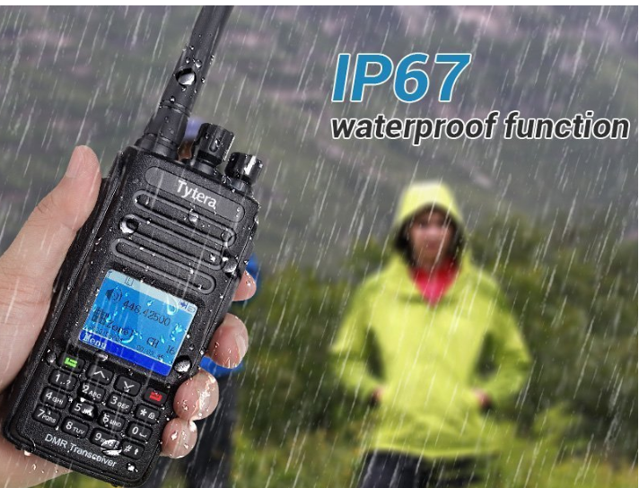 TYT MD-380G DIGITAL walkie talkie phone two way radio dmr with 15km range