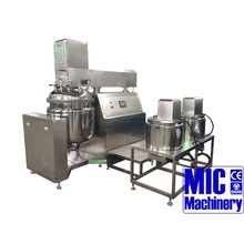 MIC-500L food grade stainless steel vacuum style 500kg Capacity Mixer for cosmetics