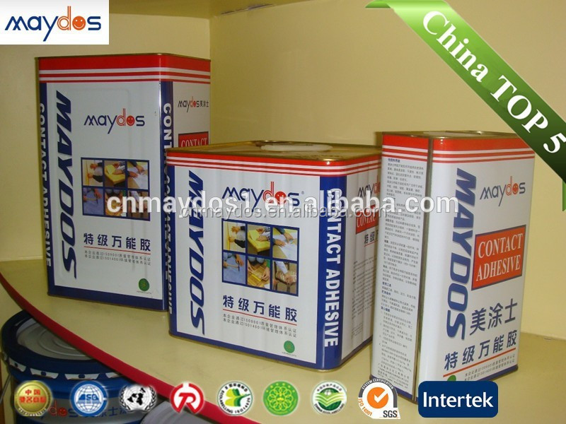 Solvent based lamination rubber cement odorless adhesive
