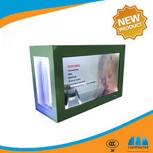 Latest Transparent LCD screen for advertising product/showcase display