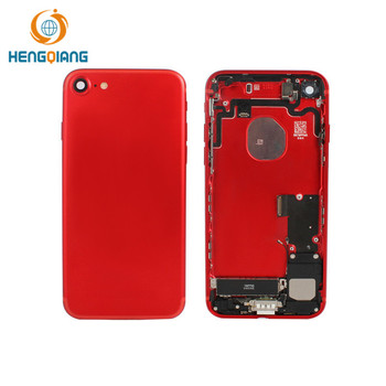 Red Genuine For iPhone 7 REAR BACK CHASSIS HOUSING WITH PARTS