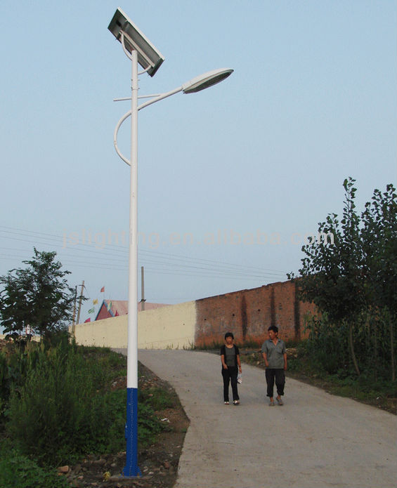 new type jiangsu baode75w led solar outdoor garden streets lighting with high quality