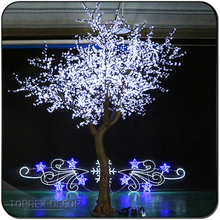 Cherry Blossom Led Tree Holiday Time Ornament