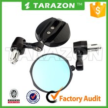 Tarazon CNC Milling Universal motorcycle bar end Mirror for Street bike