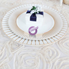 PZ21020 hot sale wedding charger ceramic dinner plates sets