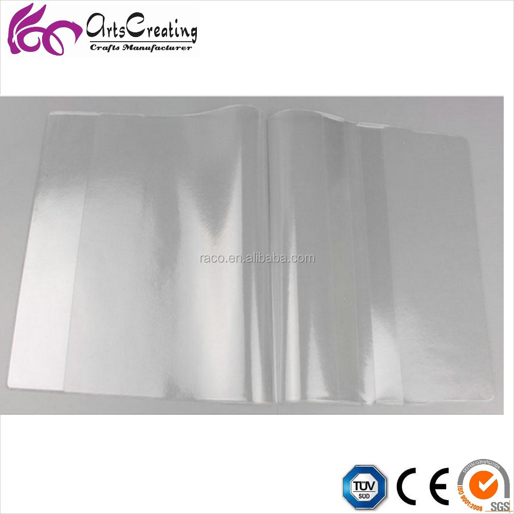 pp plastic removable book binding cover for exercise book