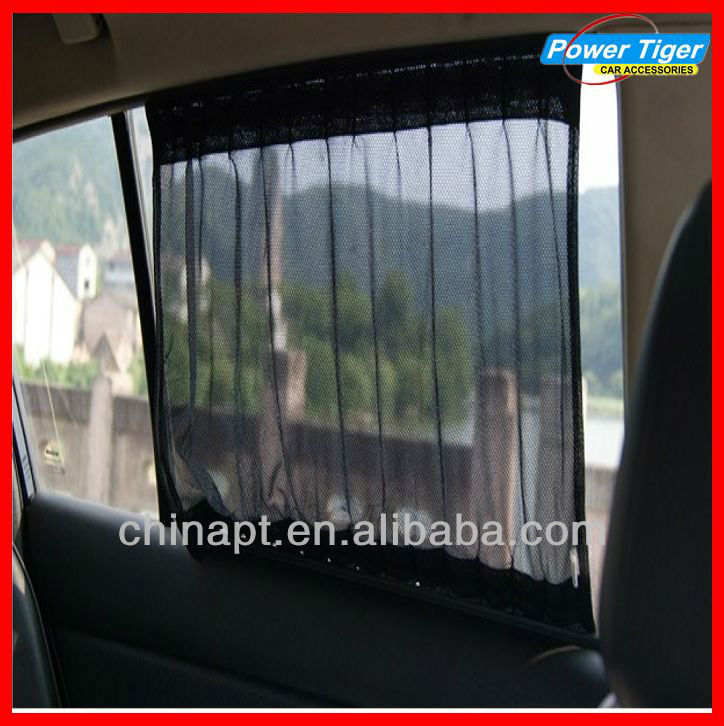 Curtains for car windows