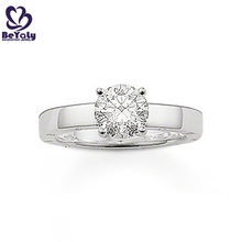 Wholesale cheap simple design 925 silver used diamond rings
