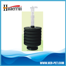 Free expansion aquarium sponge filter