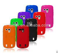 Shock proof case silicon hard case cover for Samsung galaxy S3 Mini i8190