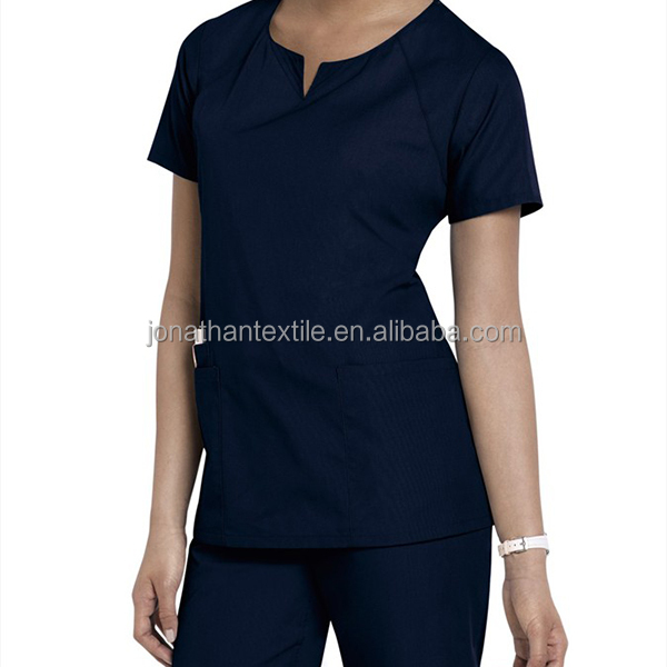 Fashional nurse scrub sets hospital nurse scrubs