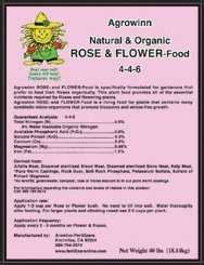 Organic Fertilizer - Agrowinn Rose & Flower Food