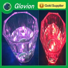 Best seller led flashing tequila pink led flashing cup
