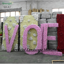 Decorative Flowers&Artificial Flower Wall Wedding Decoration
