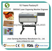 SM3040 craft mini laser engraver and cutter