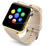 Q6 Watch Mobile Phone OEM with pure touch cap screen and 4 color options for Android Phones