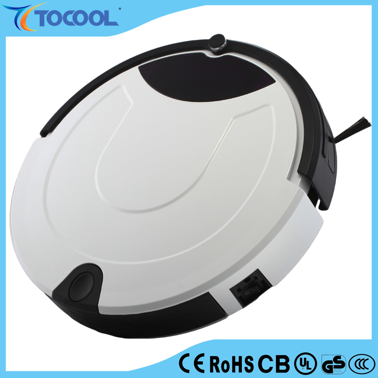 Robotic Vacuum Cleaner Auto Clean Spot Clean for Carpet, Wooden Floor with LCD Screen, UV Sterilize Robot Cleaner