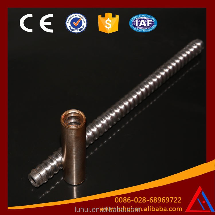 self-drilling anchor bolting reinforcing bar couplers
