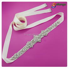 Bridal crystal belt wholesale wedding dress rhinestone belt