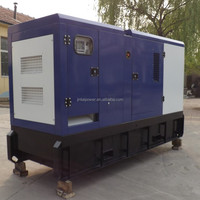 Hot sales 10KVA-2000KVA soundproof generator specification with ISO 9001