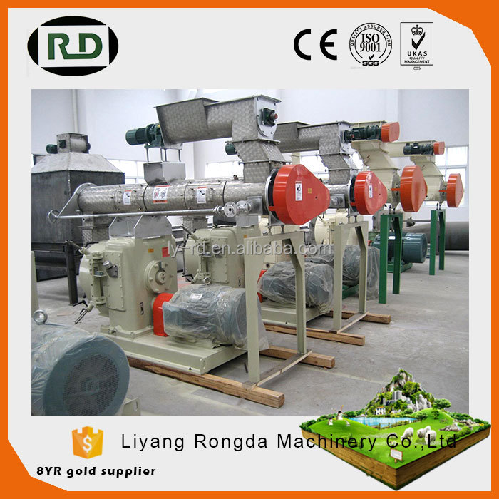 CE/GOST/ISO certificated poultry and livestock feed mill machine/poultry feed pellet machine producing line