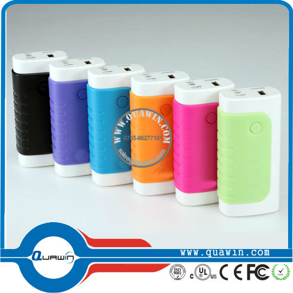 5200mah portable power bank for samsung galaxy S4 external power pack