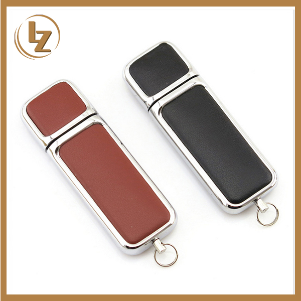 1GB-128GB USB Memory Drive made from Leather Popular Selling all over the world