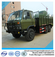 top quality factory 6 wheeler military 6x6 lorry trucks for sale