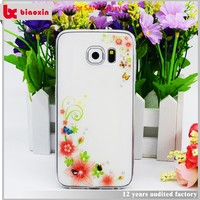 Flexible price High quality cute silicon cover for samsung galaxy y s6