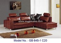 Living room furniture, sofa set, leather sofa, sofa, recliner sofa, GB 645-1 C20