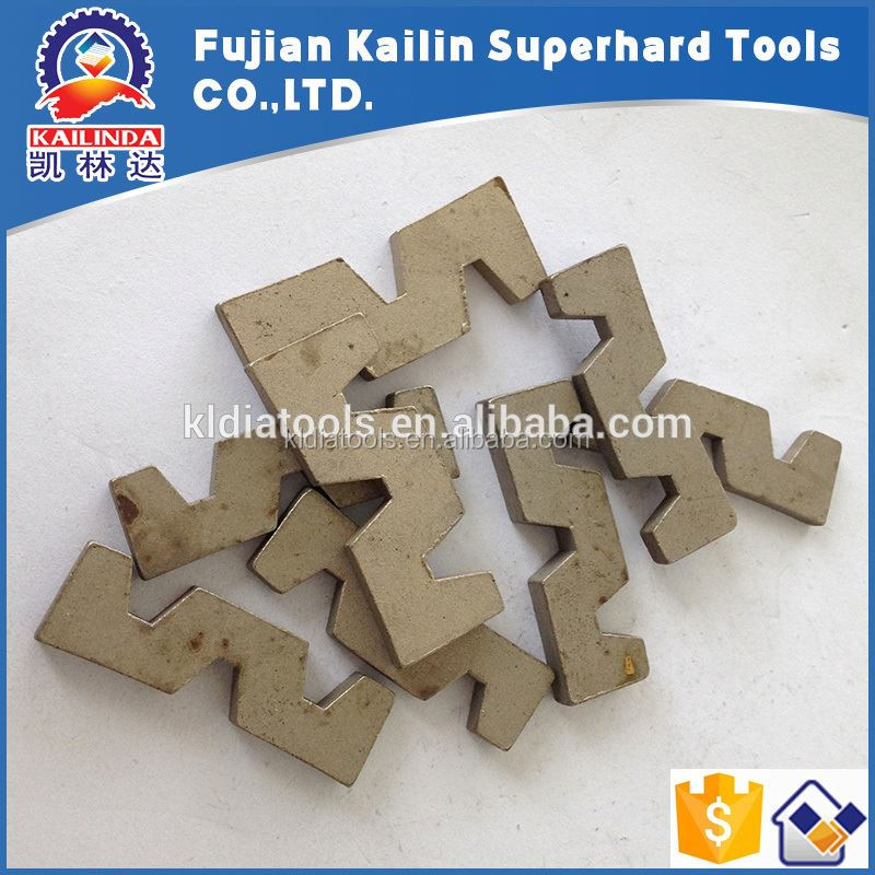 Granite Marble Sandstone Basalt Stone Cutting Diamond Segment For Diamond Saw Blade to cut blocks