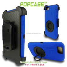 Heavy Duty Drop Protective Tough Shockproof Cover with Belt Clip Case for iphone 6 Case