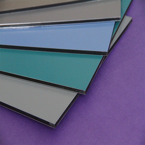 OEM pe paint 4mm 4mm 6mm 8mm 10mm acp mirror acp aluminum composite panels/sheet/board