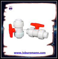 made in china hight-quality pp plastic ball valve threaded/socket