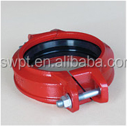 Flexible Coupling for Ductile Iron Grooved Pipe Fitting with High Quality Good Price