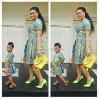African kitenge dress designs Ankara style casual wear African women midi dress