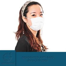 Germany PP material Physical inactivation dust mask 3m/excellent filtering bacteria and PM2.5
