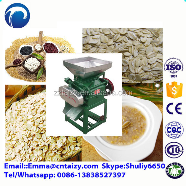 Automatic wholesale model Corn flakes Breakfast cereals machine for sale wheat flattening machine