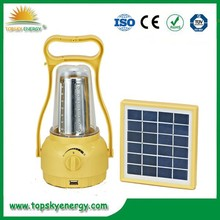 2015 Newest Solar Powered Lantern With AC Adapter