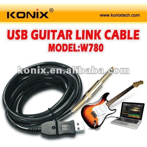 USB Guitar cable jack 6.35