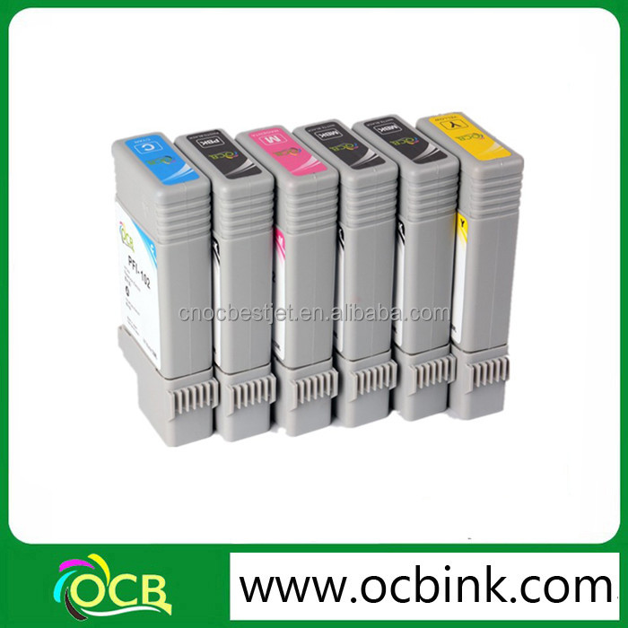 Ocbestjet Hot sell Compatible ink cartridges for Cannon IPF605 with pigment ink
