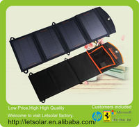 New chinese factory transparent pv solar panel for iPhone and iPad directly under the sunshine