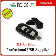 best oem custom logo color PVC usb , advertising gifts 1gb usb flash drive