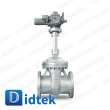 Didtek China Professional Valve Manufacturer Oil and Gas gate valve electric actuated