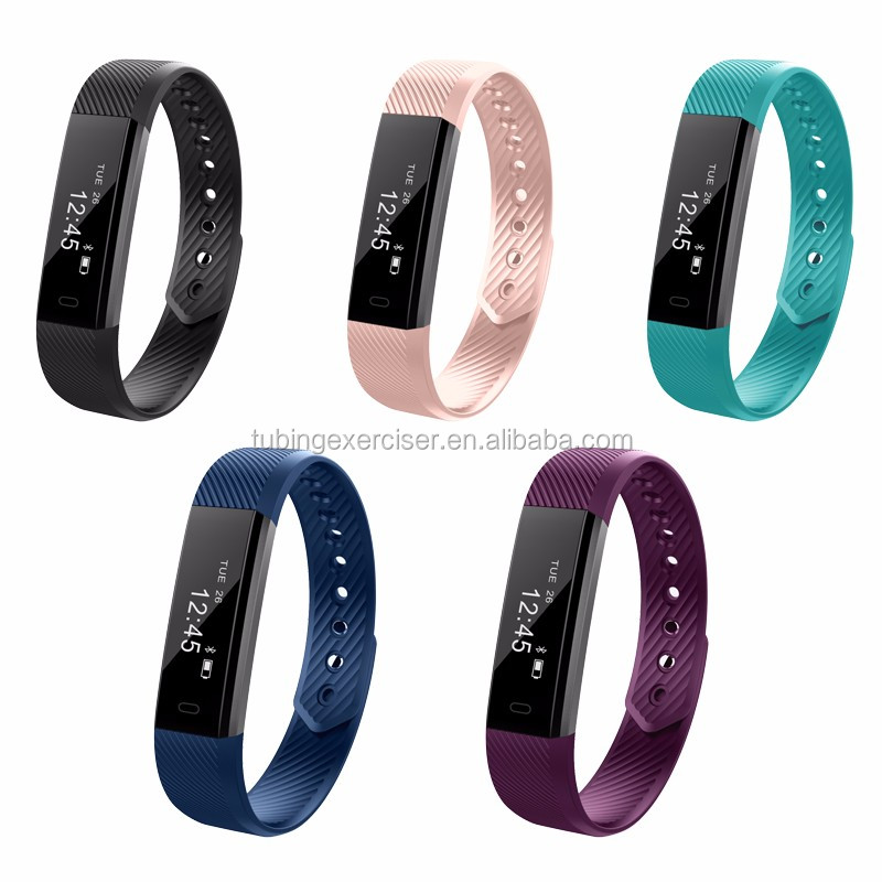 5 color sport equipment fitness smart bracelet with bluetooth