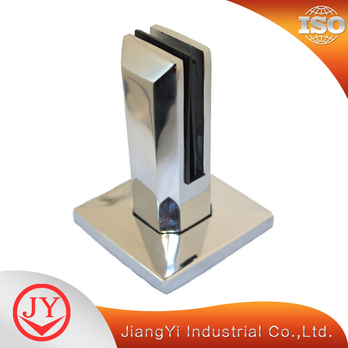 Stainless Steel Ground Pool Fence Glass Clamp Balustrades Spigots