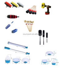 electric white cordless spin scrubber 3 replacement brush heads for cleaning dust