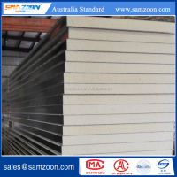 PU/PIR Polyurethane sandwich panel for wall or ceiling board