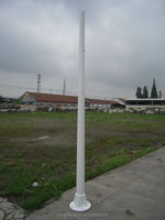 FRP street lighting pole post top FRP base-price list